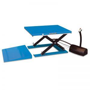 HY1001 aşağı profilli elektrikli qaldırıcı masa